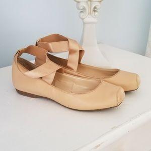 Jessica Simpson Nude Ballet Ballet Flats size 8